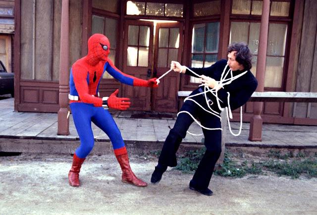 Así era el Spiderman de  Hammond a finales de los 70.