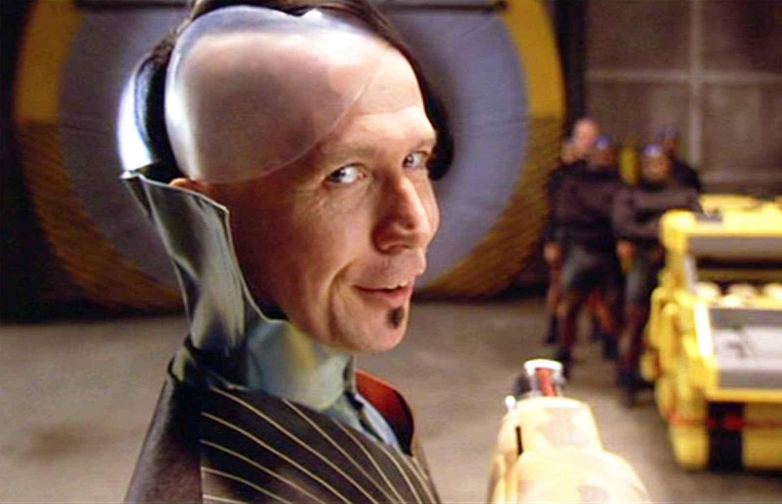 Gary Oldman en el Quinto Elemento