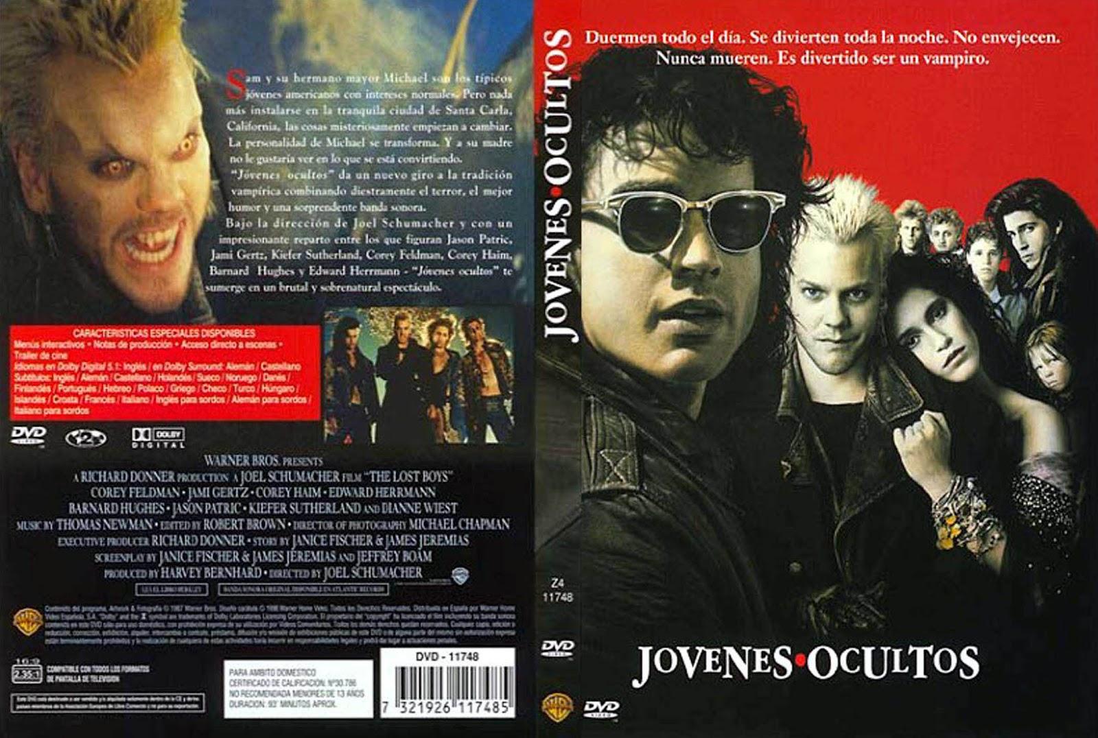 'The Lost Boys' una película de vampiros muy de los 80