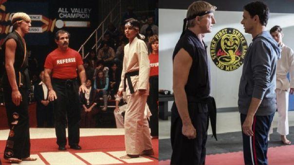 el verdadero Karate Kid